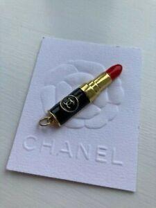 Chanel Metal Lipstick Charm