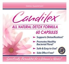 Candida Cleanse Complex Yeast Infection Treatment & Detox For Albicans 60 Caps