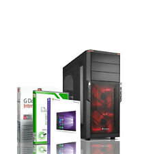 Gamer PC AMD FX 8x4.2GHz 16GB RAM 2TB + 120GB SSD GTX1060 Windows 10 Pro Rechner