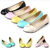 5 Color Womens Casual Slip On Loafers Flats Round Toe Comfort Non-slip Shoes New