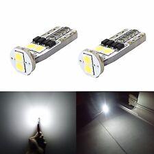 JDM ASTAR 2x T10 Wedge White 3030 SMD 6000K LED Lights Bulb 194 168 2825 W5W 175