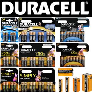 DURACELL Batterie AA R6 Mignon AAA Micro C Baby R14 D Mono R20 9V-Block 4.5V-Blo