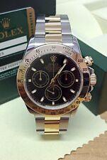 Rolex Daytona Bi/Colour 116523 Black Baton Dial - Box & Paperwork 2012