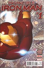 Invincible Iron Man #1 Marvel Dr Doom Madame Masque Jane Foster Thor Bendis VF