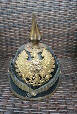More details for customs officer's pickelhaube helmet