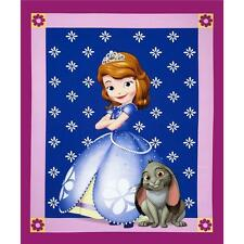 Disney Sofia - Wallhanging/Quilt Craft Panel - Cotton Fabic for Quilting