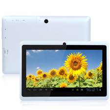 "7"" Android 4.4 Allwinner Tablet PC Quad Core Bluetooth CAMERA 4G US White HOT"