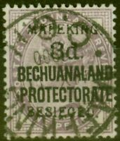 Mafeking 1900 3d on 1d Lilac SG7 Fine Used