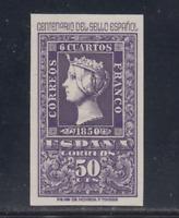 ESPAÑA (1950) MNH NUEVO SIN FIJASELLOS - EDIFIL 1075 (50 cts) CENTENARIO LOTE 1