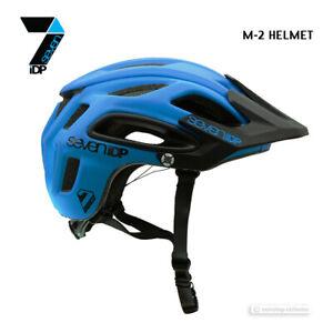 Neu 7iDP M-2 MTB Mountainbike Helm: Kobaltblau / Schwarz