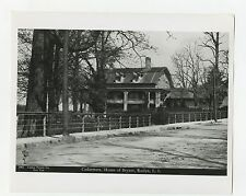 New York History - Vintage 8x10 Publication Photograph - William C. Bryant Home