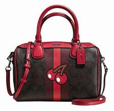COACH Signature PACMAN Mini Bennett Crossbody Shoulder Bag Purse F56650