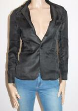 Unbranded Designer Black Long Sleeve Career Work Jacket Size XS BNWT #JA142