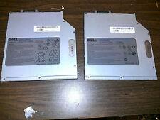 2X GENUINE Secondary Media Bay Battery Dell D610 D620 D630 D530 D520 4R084