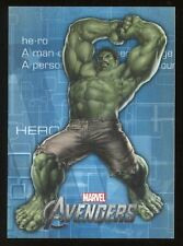 2012 Marvel Avengers Assemble Movie Heroes/Villains Evolve E-10 Hulk