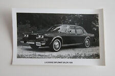 DODGE DIPLOMAT SALON 1986 Official Press photo - Canada - ST501000318