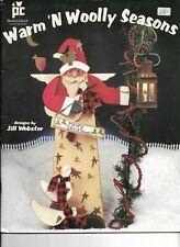 Warm 'N Wooly SeasonsTole Painting Pattern Book by Jill Webster