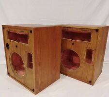 "Vintage Pair Altec Model 15 Speakers Cabinets Alnico 12"" Inch Woofer Sub Tweeter"