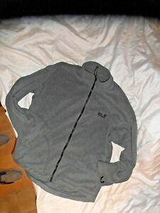 Jack Wolfskin Fleece Pullover Jacke Grau XXL