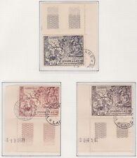LAOS N°30/32** Oblitéré BDF Numéroté TB, 1956 Buddha LAOS 27-29 MNH Used VF