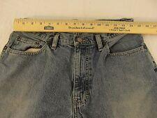 Mens Vintage Express Precision Fit Boot Cut Denim Blue 31 X 32 Cotton Jeans
