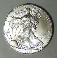 BU 2015 American Silver Eagle 1 oz .999 Silver Dollar Uncirculated (1-1518)