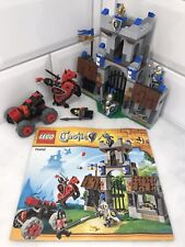 Lego Knights Castle Gatehouse Raid 70402 Complete Instructions Figures Horse Toy