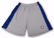 Chicago Cubs MLB Officially licensed Gray Blue TX3 Cool Polyester Shorts M-3XL