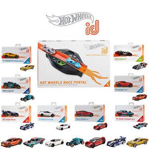 Hot Wheels ID Race Portal FXB53 - Plus 2 Extra Cars - HW Track to Smart Track