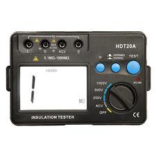 HDT20A LCD Digital Insulation Resistance Tester Megohmmeter Meter 1000V Hot