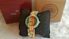 GV Sport Design Armband Uhr Holzuhr Damen Bambus (GV08)