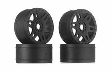 Split Six V2 Black Front/Rear Wheels 1:8 (Qty 4)  Pro-Line Racing 2724-03