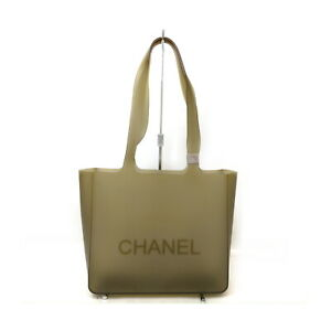 Chanel Tote Bag  Beiges Rubber 1728540