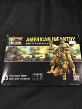 Bolt Action American Infantry 25 Miniatures Nib