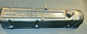1983 Datsun Nissan 280ZX Turbo Valve Cover With Cap-Very Nice Shape S3