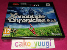 XENOBLADE CHRONICLES 3D NINTENDO 3DS NEUF SOUS BLISTER VERSION FRANCAISE