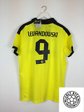 Borussia Dortmund Lewandowski #9 12/13 * BNWT * Hogar Camiseta De Fútbol Fútbol (XL)