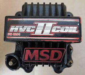 MSD 8261 HVC-2  Ignition Coil , 45000 Volt, U-Core Windings, For 7 Ignition Only