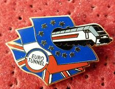 PIN'S TRANSPORT EUROSTAR EURO TUNNEL PARIS LONDRES ZAMAC ARTHUS BERTRAND