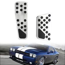 Gas & Brake Pedal Cover Kit For Dodge Challenger / Charger / Chrysler 300 09- TE