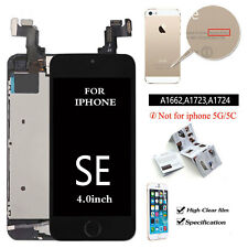 For iPhone SE Screen Touch LCD Display Digitizer Replacement Black Button Apple