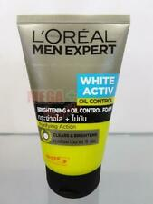 Loreal Men Expert WHITE ACTIVE OIL CONTROL Brightening Clears Face Foam 100ml.