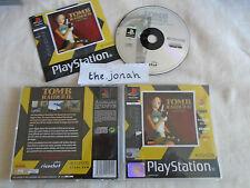 Tomb Raider 2 PS1 (COMPLETE) Sony PlayStation Lara Croft Action