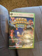 Sega Superstars Tennis/Live Arcade (Microsoft Xbox 360) Complete