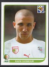 Panini Football Sticker - 2010 World Cup - No 238 - Algeria - Rafik Djebbour