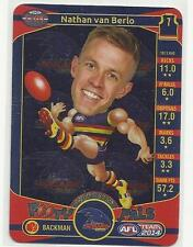 2014 TEAMCOACH ADELAIDE CROWS NATHAN VAN BERLO Footy Pals C01 CARD FREE POST