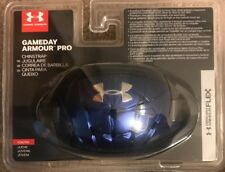 New! Under Armour Youth Boys Gameday Armour Pro Chin Strap Blue Osfa Football
