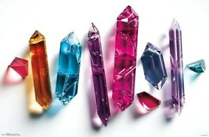 CRYSTALS POSTER - 22x34 - 17800
