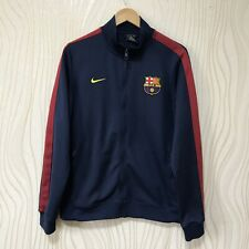 BARCELONA FOOTBALL SOCCER N98 AUTHENTIC JACKET TRACK TOP NIKE 542394-410