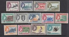 British Virgin Islands 1956 Set of 13 Mint Never Hinged